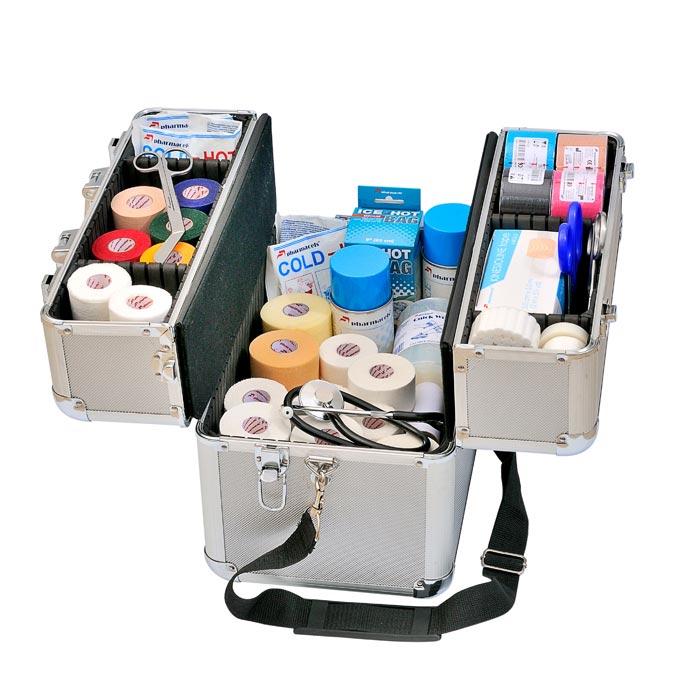 Кейс для врача, Саквояж врача, сумка укладка медицинская, Медицинские сумки, чемодан для спортивного врача, MED KIT Pharmacels, Алюминиевый чемодан, Кейс визажиста, Чемодан для косметики,