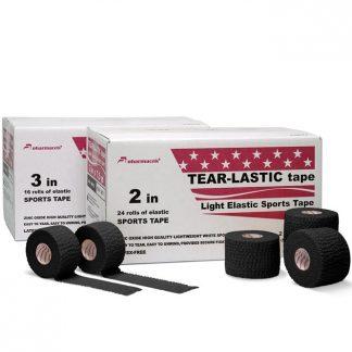Tear-Lastic Tape Pharmacels® коробки и ролики чёрный цвет
