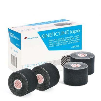 Pharmacels® KINETICLINE Tape коробка и 4 ролика чёрный