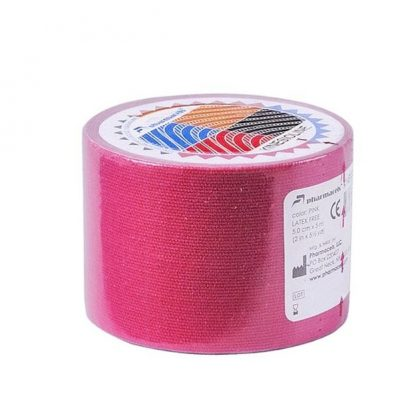 Pharmacels® KINETICLINE Tape 1 ролик розового цвета