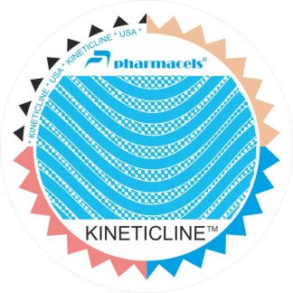 кинезио голубой лого 1м Pharmacels® KINETICLINE Tape