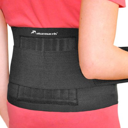 BACK BRACE Pharmacels вид сзади