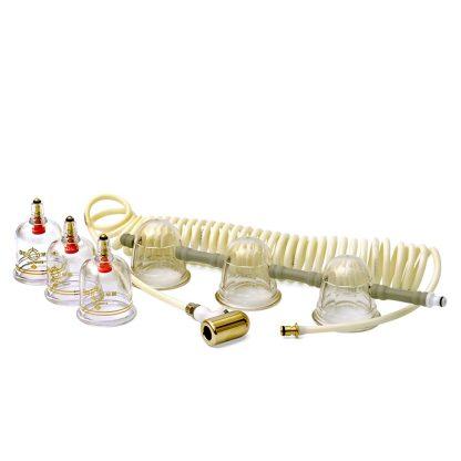 Pharmacels 3700 цепочка банок, отдельные банки, соединительный шланг для вакуумной терапии
